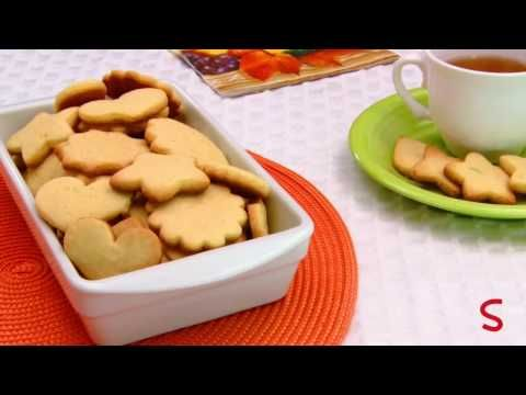 ▶ Receitas Sadia | Biscoitos Amanteigados - YouTube