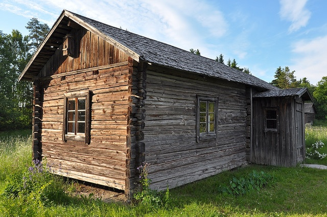 The birth house of Frans Eemil Sillanpää.  He was awarded the Nobel Prize in…