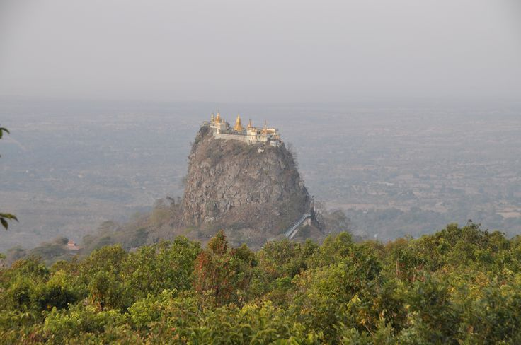 Ghost Mountain, Mount Popa, Myanmar