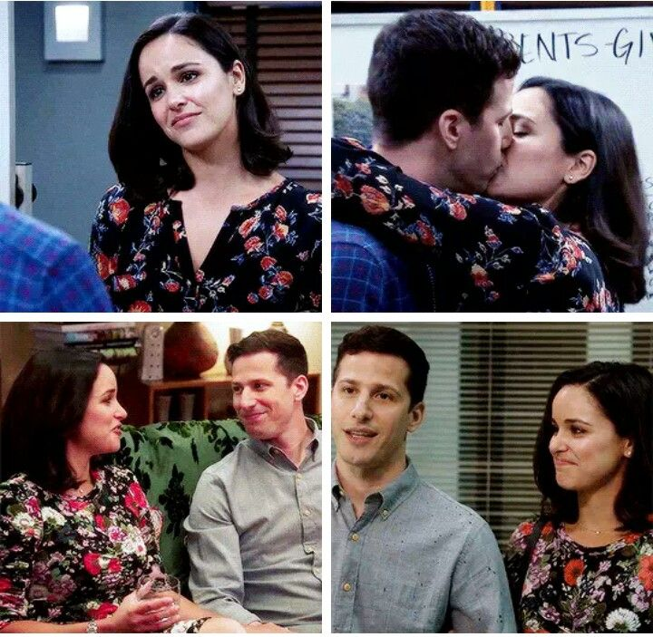 I Know They Are Both Married To Other People And Have Kids In Real Life And I M Happy For Them But I Still Sh Jake And Amy Brooklyn Nine Nine Brooklyn S