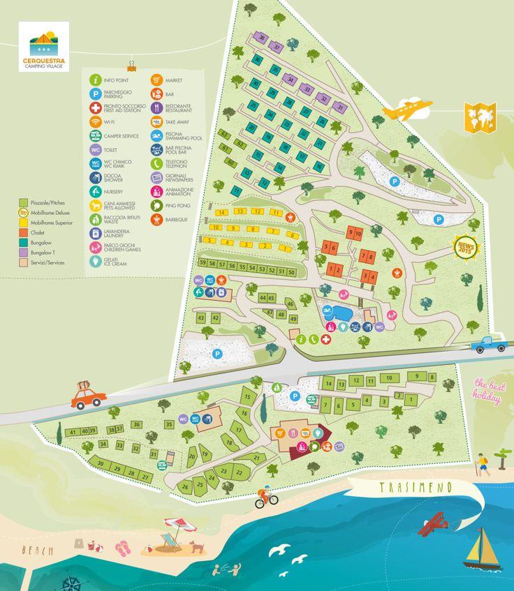 Map of #CampingVillageCerquestra