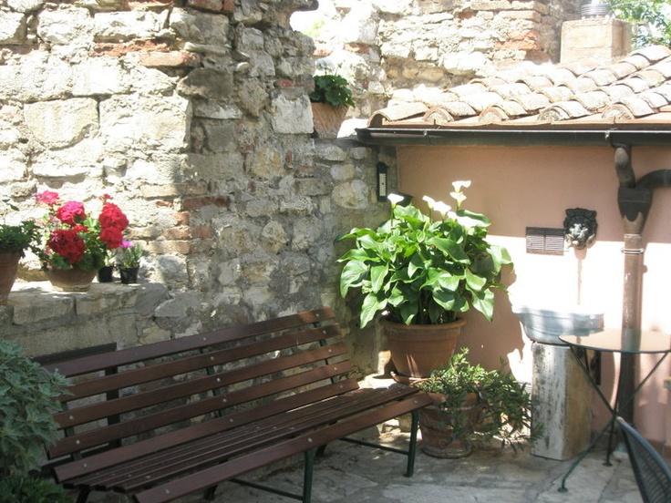 Sitzecke auf dem Dachgarten