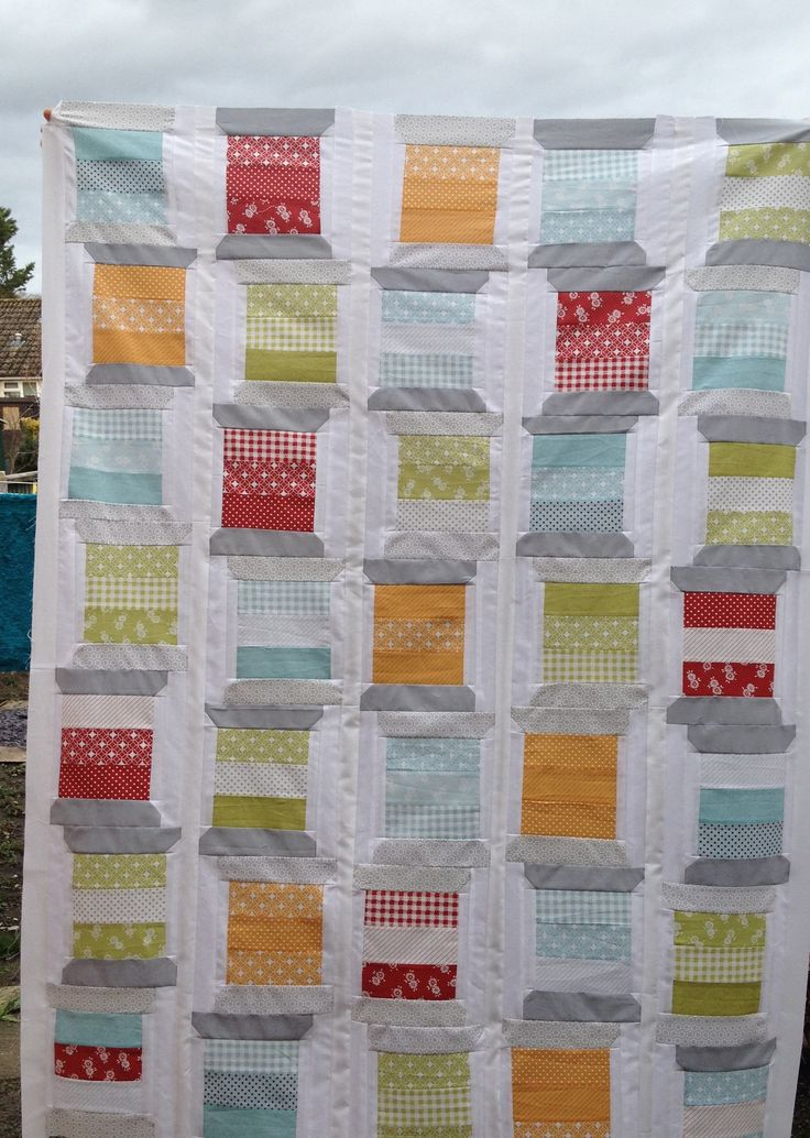 Top of my spool quilt I'm making