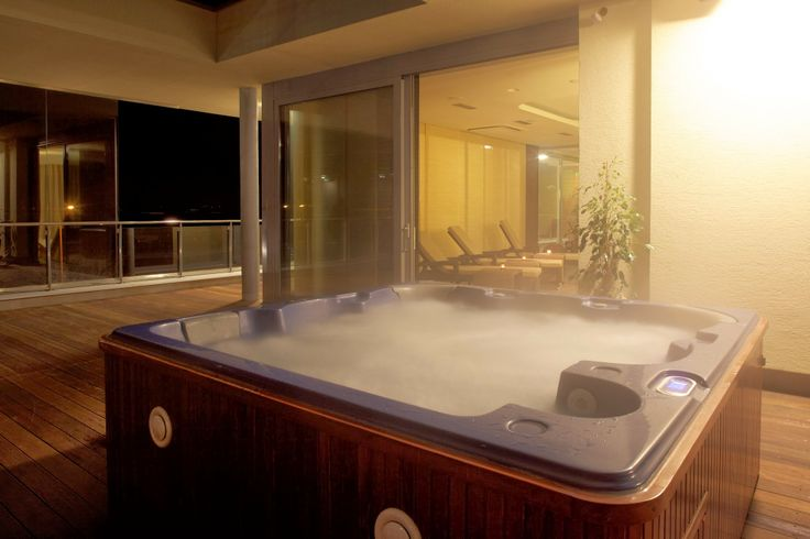Alternatively, try a whirlpool jacuzzi on a covered terrace and enjoy of romantic view of the whole area.