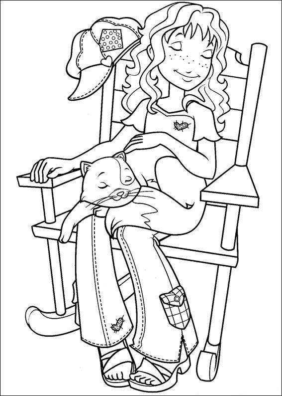 Holly hobbie coloring page holly hobbie and friends for Holly hobbie coloring pages