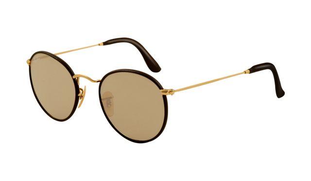 Ray Ban RB3475Q Sunglasses Black Frame Beige Crystal Lens