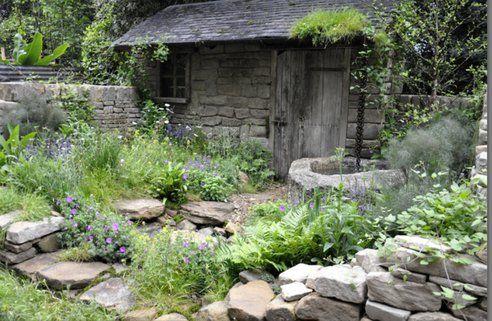 Small Gardens w Water Saving Ideas Galore #RHSChelsea: @TreeHugger Native plants!
