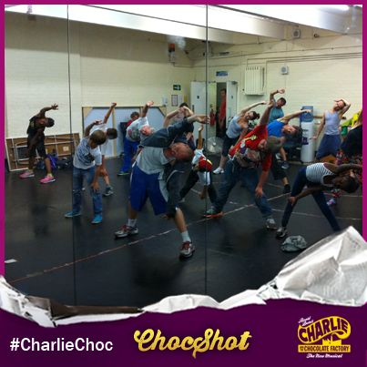 Take a peek at the incredible #CharlieChoc cast preparing for TWO performances today… why not share a ChocShot of your own if you're getting ready for something spectacular this weekend!