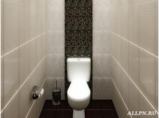 Ремонт туалета пластиковыми панелями фото 7