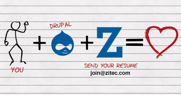 We're looking for new members to join our team! See all the available positions: http://zit.ec/join-us
