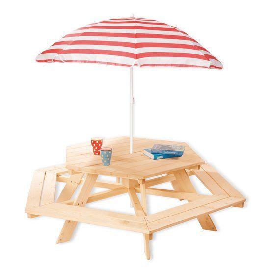 Picnic table 6-Corner