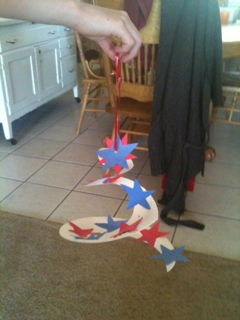 Independence Day craft for the kiddies?