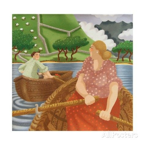 Rippling Romance, 2006 Giclee Print by Victoria Webster - AllPosters.co.uk