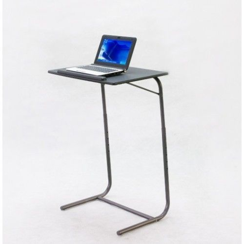 Adjusts to 6 Heights from 65cm-85cm - Adjustable Table is ideal for viewing laptops, eating dinners, reading and writing for adults or children