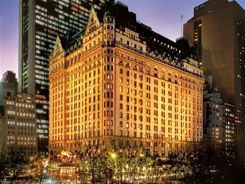 Stay at least one night in The Plaza Hotel!!