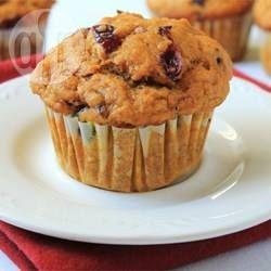 Cranberry Pumpkin Muffins @ allrecipes.com.au