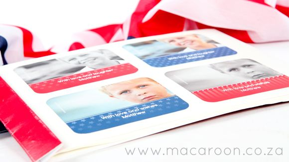 Personalised Photographic Gift Stickers