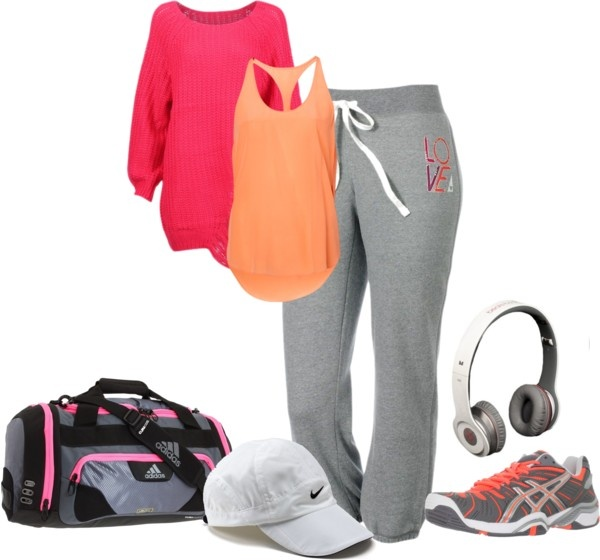 """Gym Swag"" by laaudra-rasco on Polyvore"