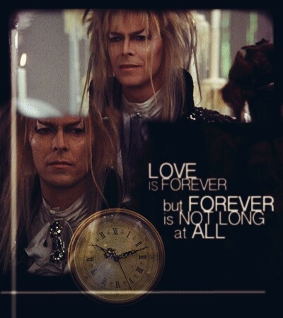 Labyrinth - its' only forever...but forever isn't long at all....