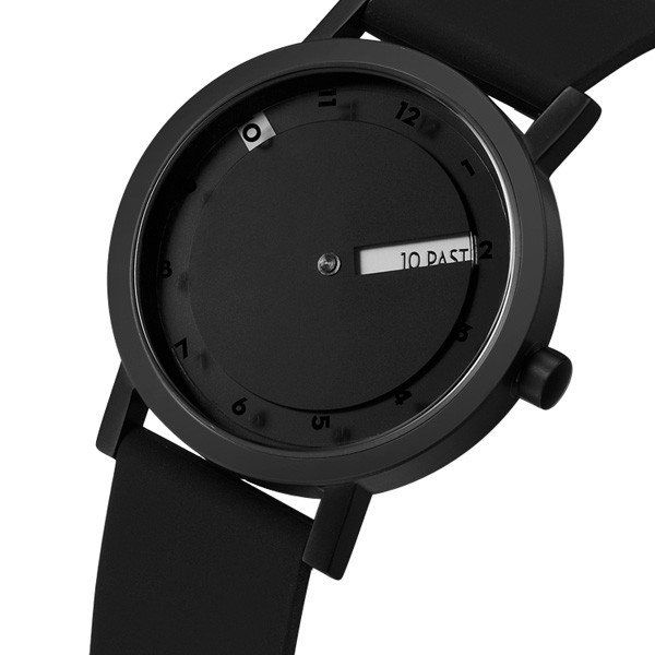 Hot all black watch