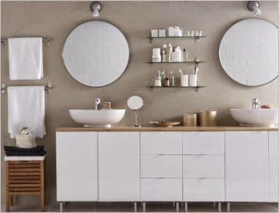 Les 25 meilleures id es de la cat gorie salle de bain ikea for Meuble porte gobelet