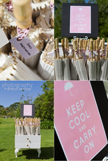 Parasol Wedding Decor From Quirky Parties Cape Town