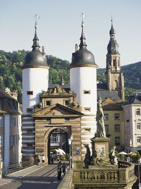 """Alte Brücke"", Heidelberg, Baden-Württemberg"