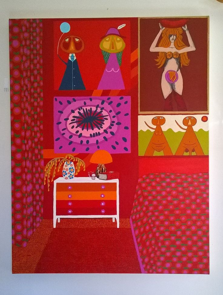 Dreams of Illingworth and Alcorn 2014 by Laura Williams 2014 acrylic on linen .