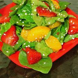 Strawberry Spinach Salad III Allrecipes.com