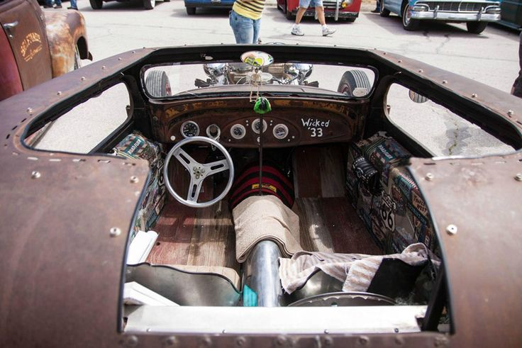 Rat Rod Interiors Rat Rod Interiors Pinterest Rat Rods Photos And Interiors