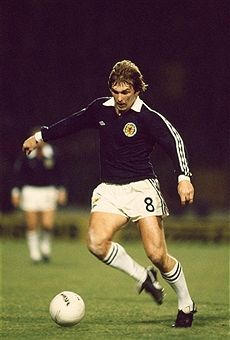 Kenny Dalglish Scotland 1981