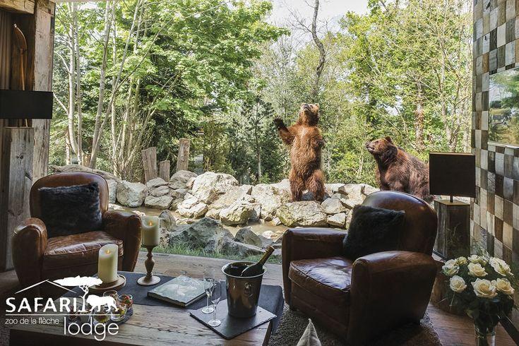 YUKON LODGE   Safari Lodge zoo de la fleche
