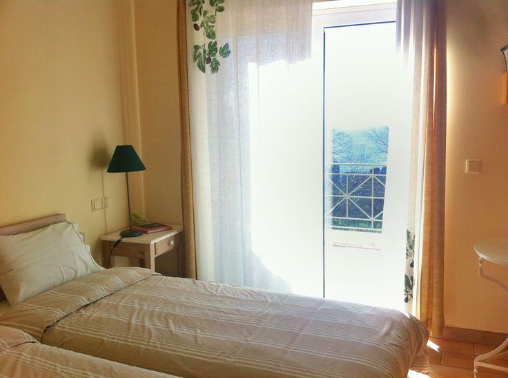 Wake up to a breathtaking view!  #eleonashotel #rovies #evia #agrotourism #relaxingvacations #retreat