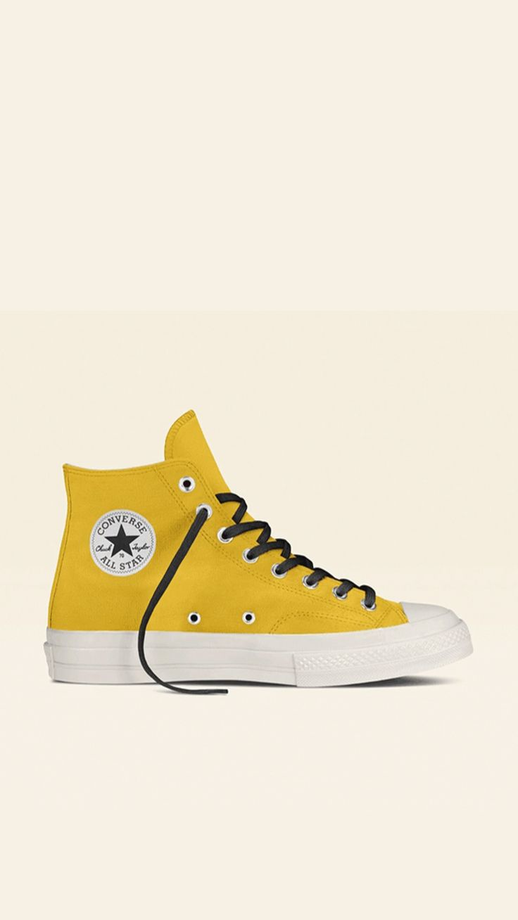Converse by You. Choose from unique colors, patterns and materials and add personalized text to create a shoe you can call your own. Converse 70s, Converse Sneakers, Converse All Star, High Top Sneakers, Converse For Kids, Cool Converse High Tops, Estilo Goth Pastel, Custom Shoes, Chuck Taylor Sneakers
