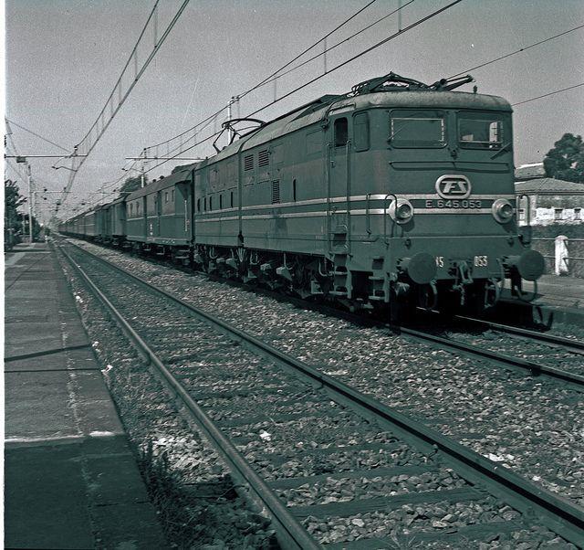 Locomotiva E645 by Ferrovie dello Stato Italiane, via Flickr
