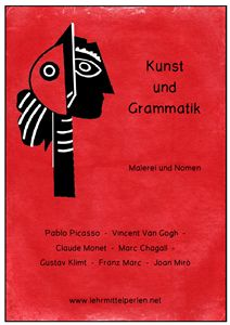 Deutsch Grammatik: Nomen und Malerei (Ampelhefte)