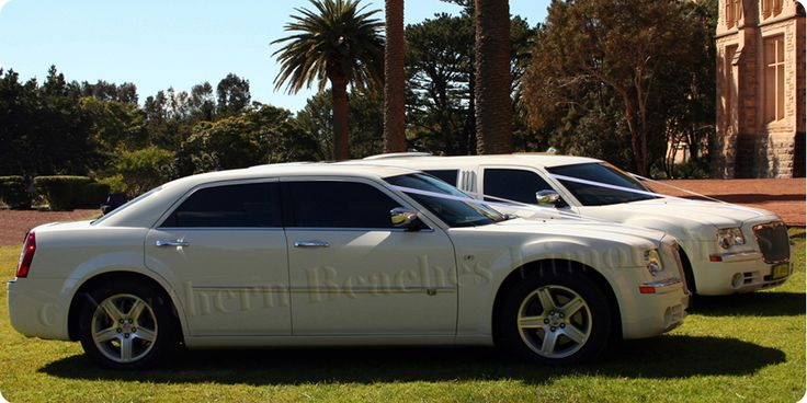 Chrysler 300C sedan & stretch wedding cars on duty in Sydney