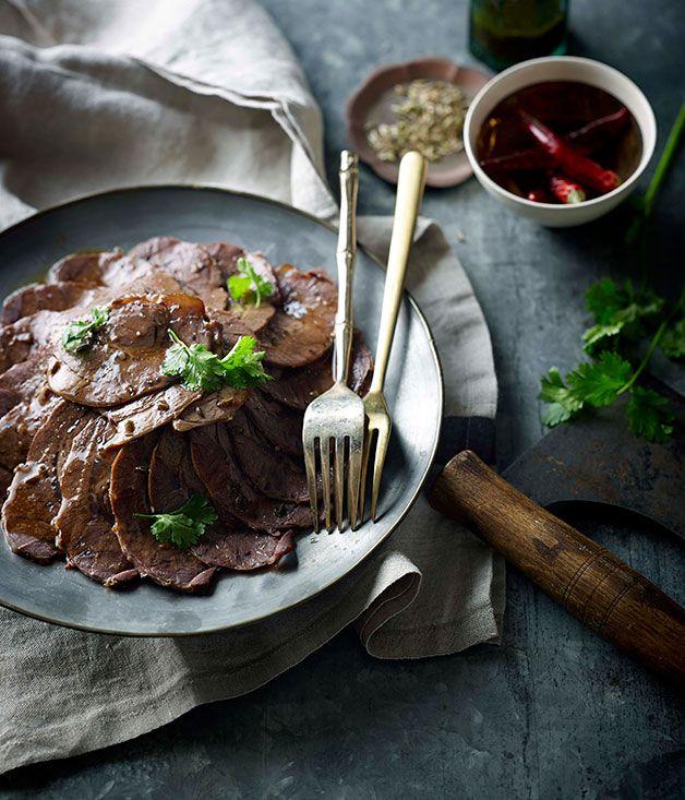 Sichuan braised beef slices (Wu xiang niu rou) - Gourmet Traveller