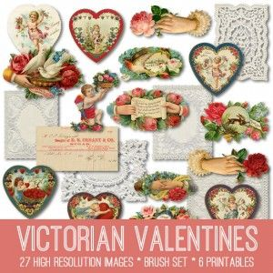 Ornate Cherubs Valentine Image - Splendid! - The Graphics Fairy