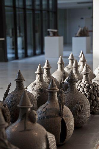Museo internazionale della ceramica a #Faenza opere di #Mimmo #Paladino © #WilderBiral All Rights Reserved DO NOT use or reproduce without permission. Thanks