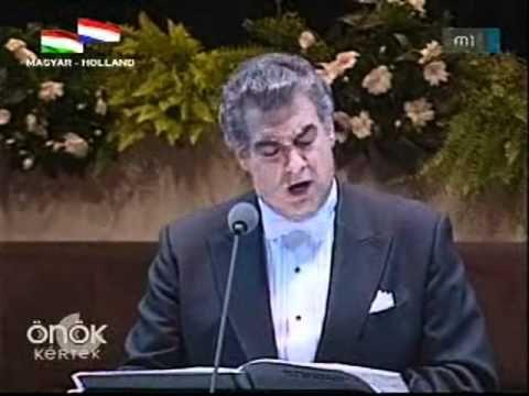 Plácido Domingo: Katona J. - Erkel F.: Bánk bán - Hazám, Hazám - YouTube