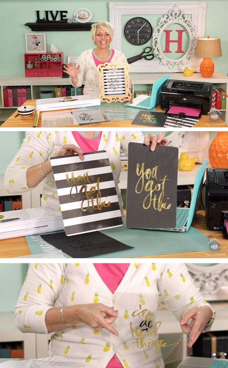 Every crafter must watch this video on using your Minc Foil Applicator on different surfaces by @heidiswapp