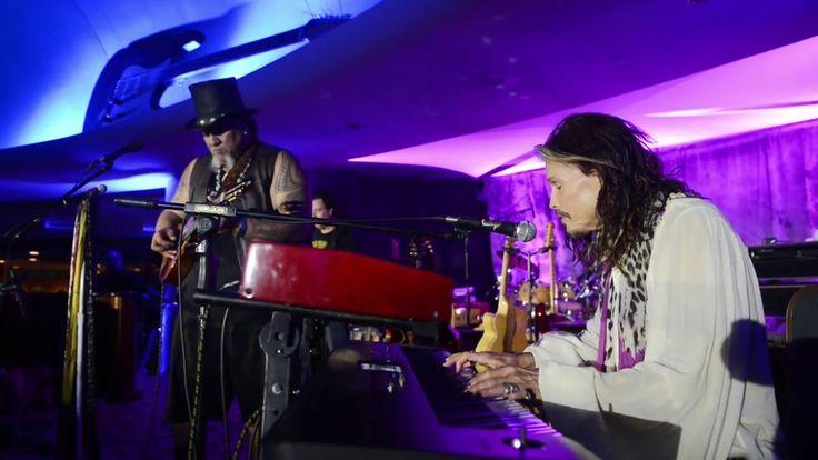 Willie K and Steven Tyler play Dream On