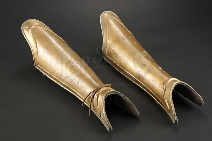 Female Chariot Archer Shin Guards |                  Prop Store - Ultimate Movie Collectables