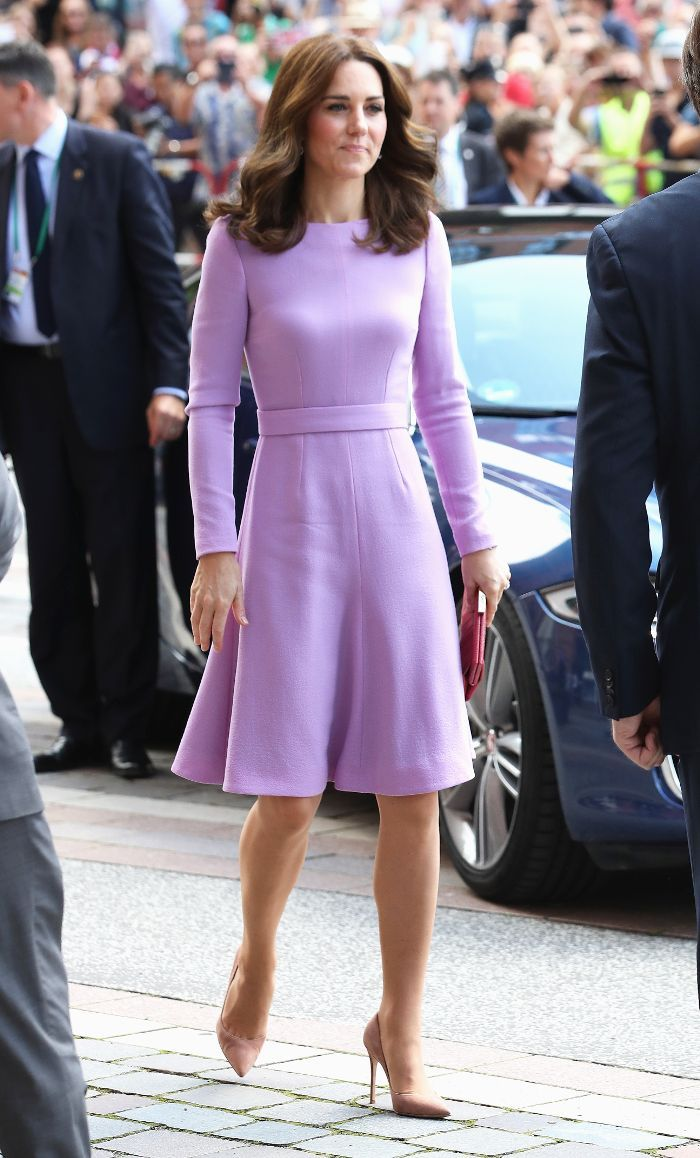 Stop EVERYTHING: Duchess Kate Is Wearing A 35 ASOS Dress Today