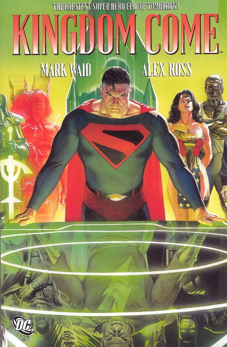 Combine stunning artwork and a riveting tale about superheroes in a futuristic chaotic world and you've got this amazing page-turner of a graphic novel called Kingdom Come. All the major players in th