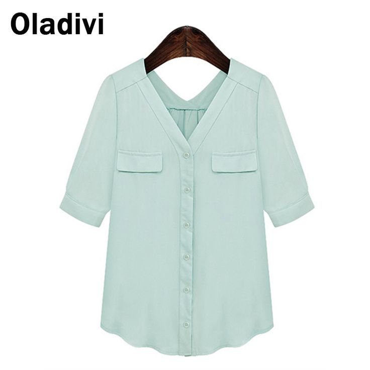 Find More Blouses & Shirts Information about Women Blouse Fashions Designer Shirts Blusa Feminina Plus Size Blouses V Neck Formal Ladies Short Sleeve Office Work Tops M8304,High Quality blouse rose,China blouse skirt Suppliers, Cheap blouse desgins from Oladivi Group - Minabell Fashion Store on Aliexpress.com