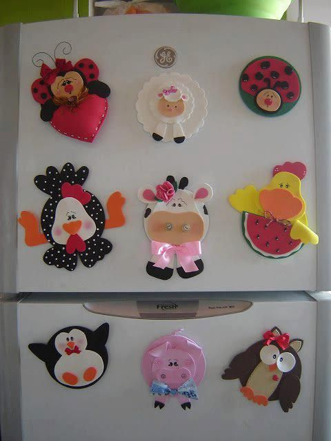 decorate your refrigerator in an easy and pretty.
