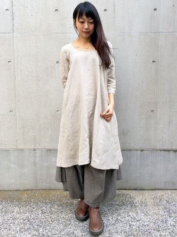 WEB SHOP - KAPITAL linen dress idea