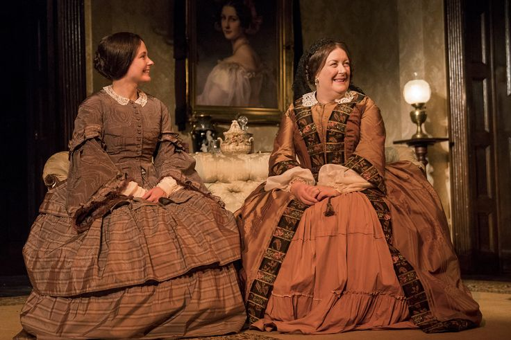 Karen McCartney and Marion O'Dwyer in The Heiress by Ruth and Augustus Goetz, based on the novel Washington Square by Henry James. Picture by Pat Redmond (2)